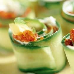 recept komkommer met gorgonzola voorgerecht van Italian Residence vakantiehuizen Italië