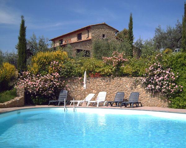 Agriturismo met zwembad Toscane kust Los-Ghep van Italian Residence