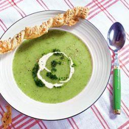 Recept Italiaanse courgette soep van Italian Residence vakantiehuizen Italië