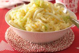 recept aardappel puree met venkel Itailan Residence vakantiehuizen Italië