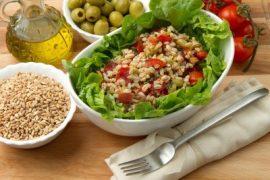 spelt salade met rucola