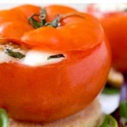tomaat gevuld met geitenkaas recept van Italian Residence vakantiehuizen Italië