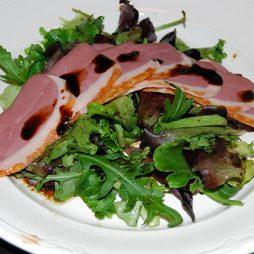 Recept voorgerecht salade van eendeborst van Italian residence vakantiehuizen ItaliË