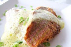 Recept Zalm met Limoncello saus van Restaurant Via Grande Ootmarsum