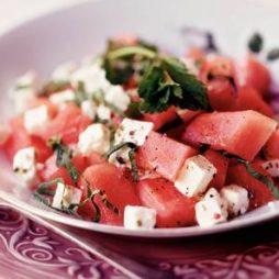 recept meloen feta salada van de Smaak van Italian Residence