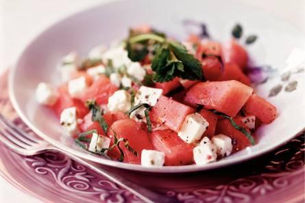 recept meloen feta salada van de vele smaken van Italian Residence