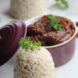 Recept Rundersukade met risotto van de Chef van de Smaak van Italian Residence