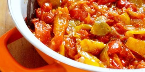 Recept peperonata di Marianne Italië specialist Italian Residence