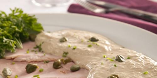 Recept voorgerecht antipasti vitello tonato van Italie specialist Italian Residence