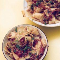 Recept Pappardelle met Lamsragout van de Smaakvan Italian Residence