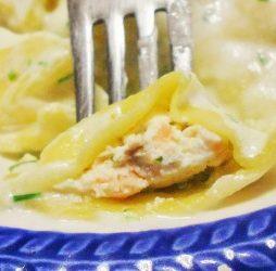 Recept ravioli met zalm van de Smaak van Italian Residence