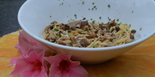 Recept pasta-met-makreel-de-smaak-van-italian-residence