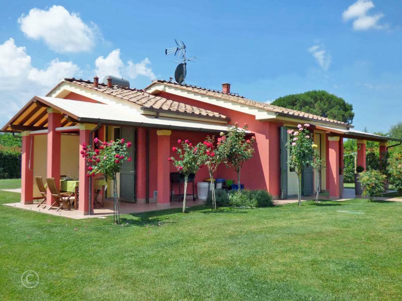 Vrijstaande villa met zwembad Toscane Noord Dan-Giul Garfagnana van Italian Residence