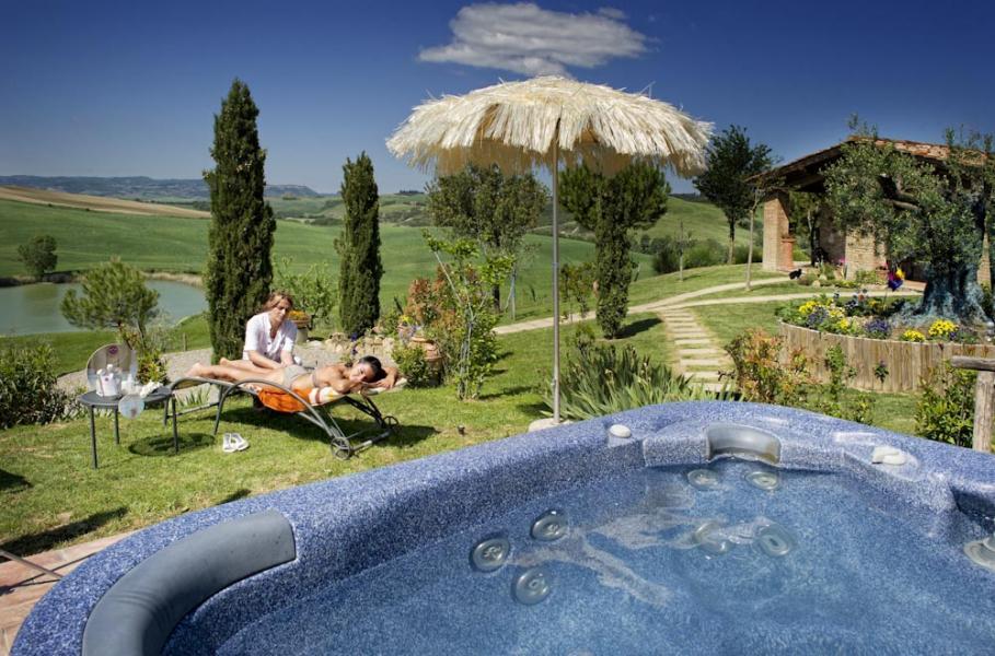 4x thermen en spa's in de regio Val D'Orcia (Siena) - Italië. Met vakantiehuizen, agriturismo's en B&B van Italian Residence italie specialist