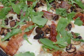 Recept van Pizza met truffel en pancette van de vele smaken van Italian Residence vakantiehuizen in Italie