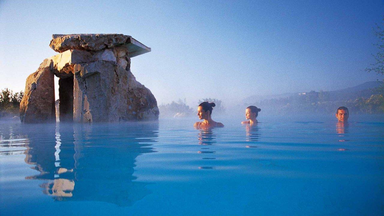 3 mooiste thermen en spa's in de regio Val D'Orcia (Siena) - Italië. San Casciano dei Bagni. Vakantiehuizen van Italian Residence
