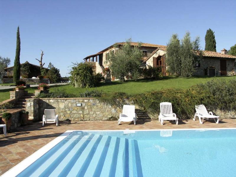 Vakantiehuizen agriturismo's en B&B regio Val D'Orcia (Siena) - Italië van Italian Residence Italie specialist