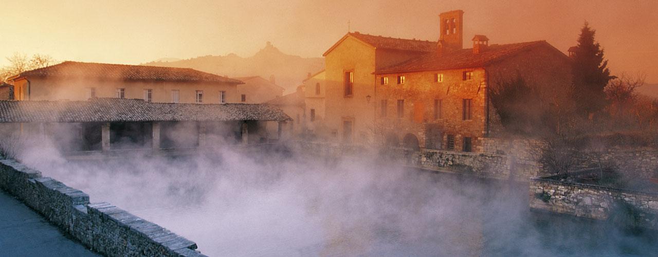 3x thermale baden Toscane italie regio Sienna. Vakantiehuizen van Italian Residence