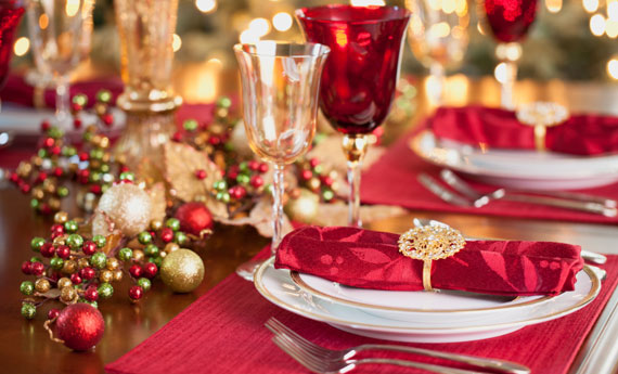 Italiaans kerstmenu van vier gangen 2016 van Italian Residence