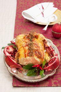 italiaans recept voor gevulde kapoen met prosecco van de Smaak van Italian Residence