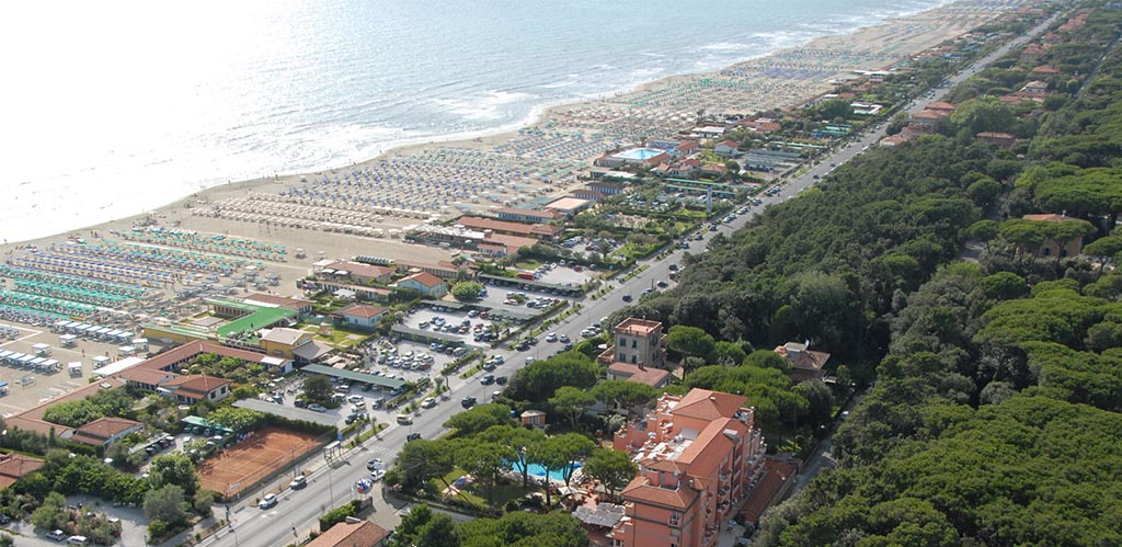 kust strand Viareggio Vakantiehuizen vakantie villa agriturismo kust italie via Italian Residence