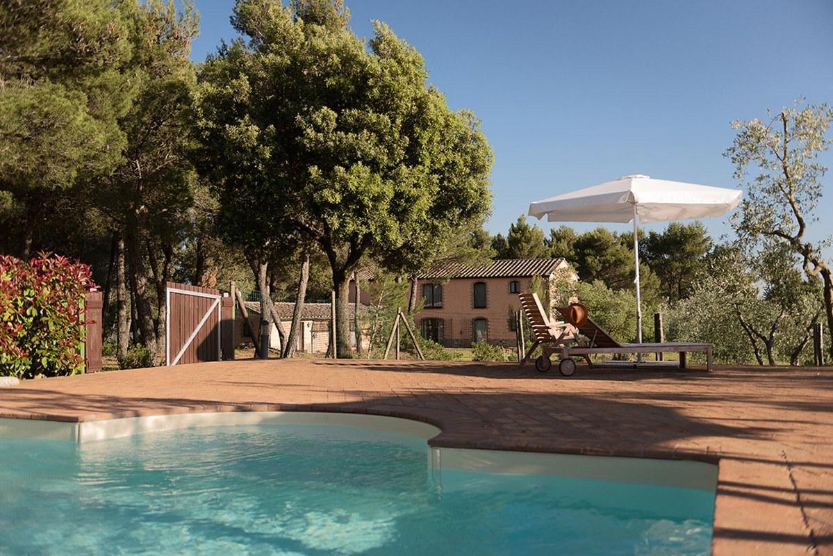 vakantiehuizen met zwembad huren in italie Toscane agriturismo vakantie villa bij Italian Residence