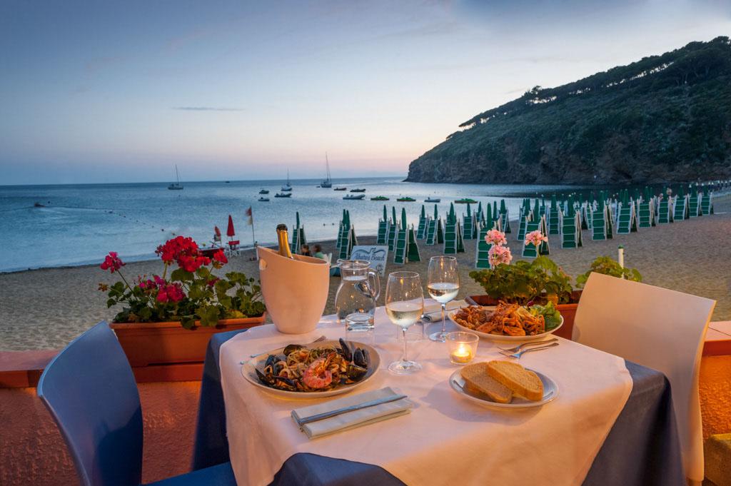 tips voor restaurants Elba van Italian Residence