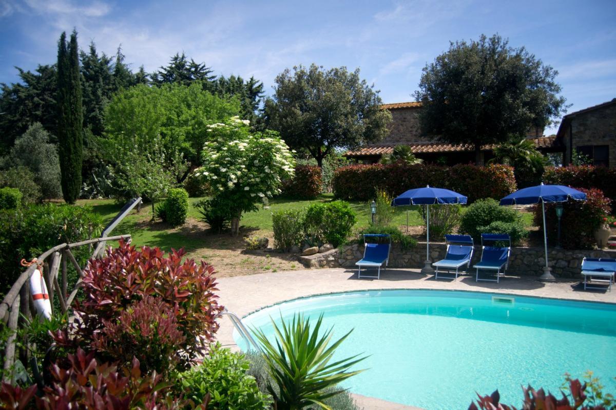 Agriturismo met zwembad Toscane kust Italian Residence