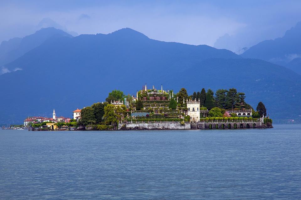 Borremeus eilanden in het lago Maggiore