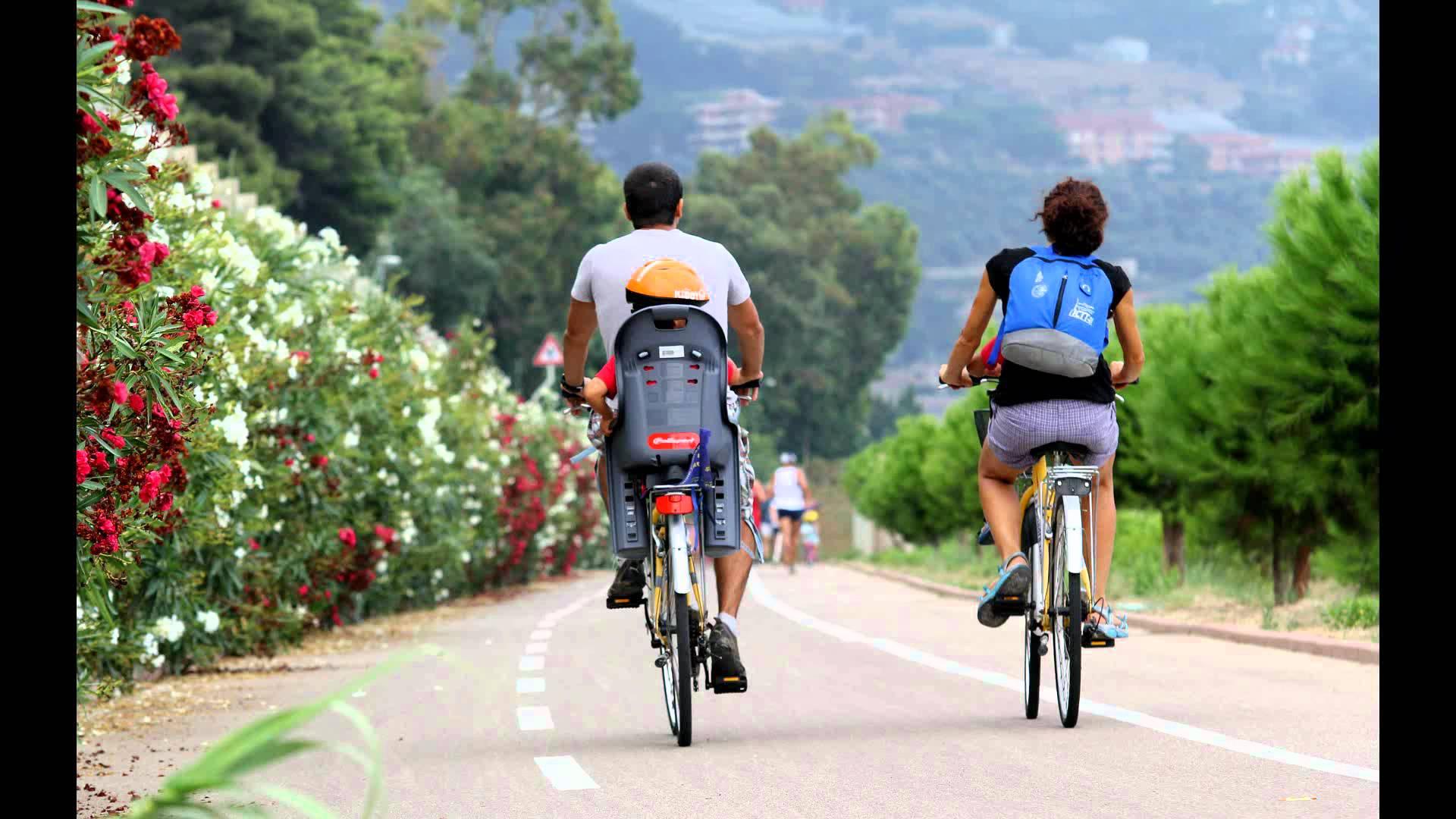 Fietsen in Liguria fietspad Ospedaletti- San Lorenzo al Mare
