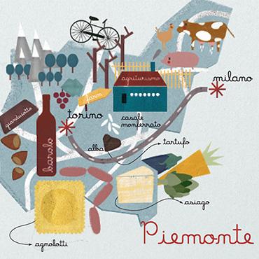 plattegrond Piemonte