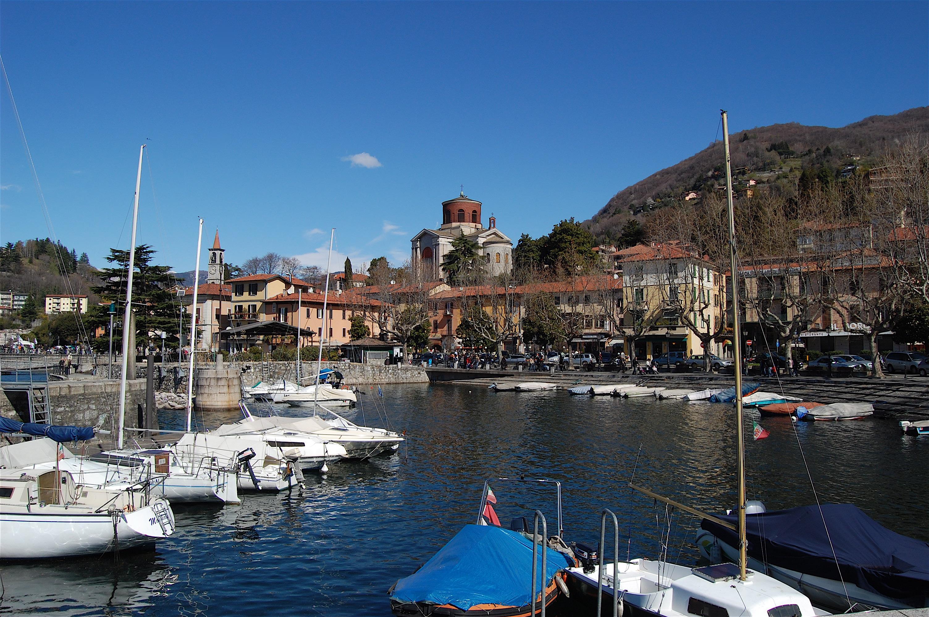 Laveno aan het lago Maggiore