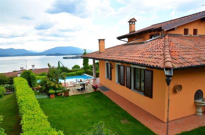 Vakantie villa Italian Residence Lago maggiore Este-Bano