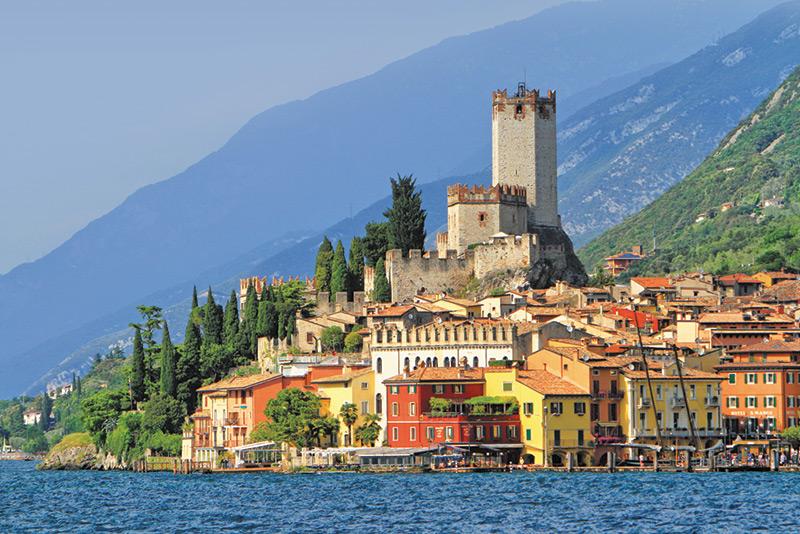 Fietsen langs het Gardameer Italian Residence