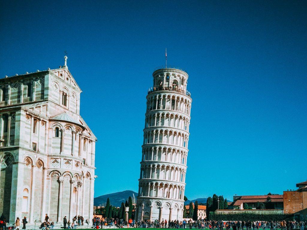 De vele smaken van Italian Residence. Toscane Pisa toren van pisa