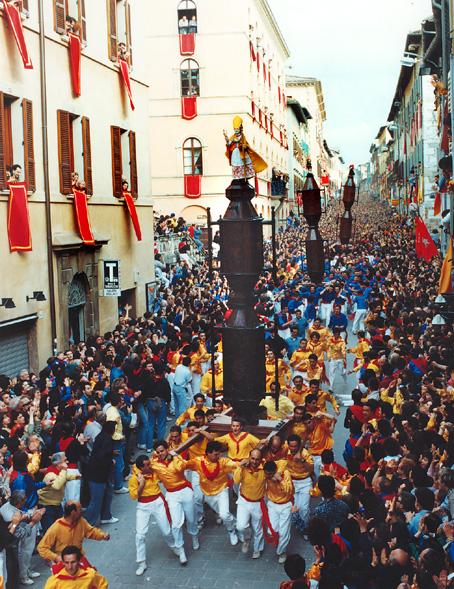 De vele smaken van Italian Residence. Umbrie - Gubbio festivals