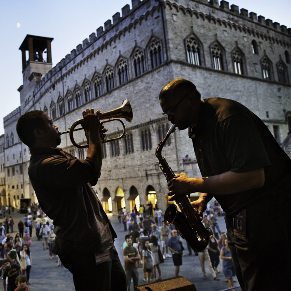 De vele smaken van Italian Residence - Umbrie jazz festival